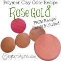 Rose Gold Color Recipe by KatersAcres