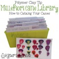 Polymer Clay Millefiori Cane Library Help by KatersAcres
