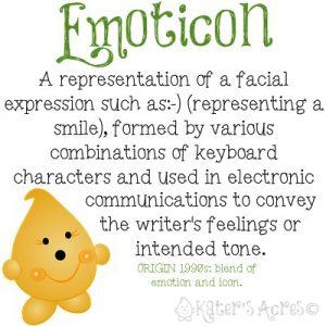 Emoticon Definition Parker