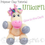Polymer Clay Unicorn Tutorial for Parker's Clayful Tutorials Club Members | Join the Club NOW to Get More Tutorials for Polymer Clay Just Like This