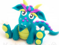 Polymer Clay Dragons – Parker's New Friends