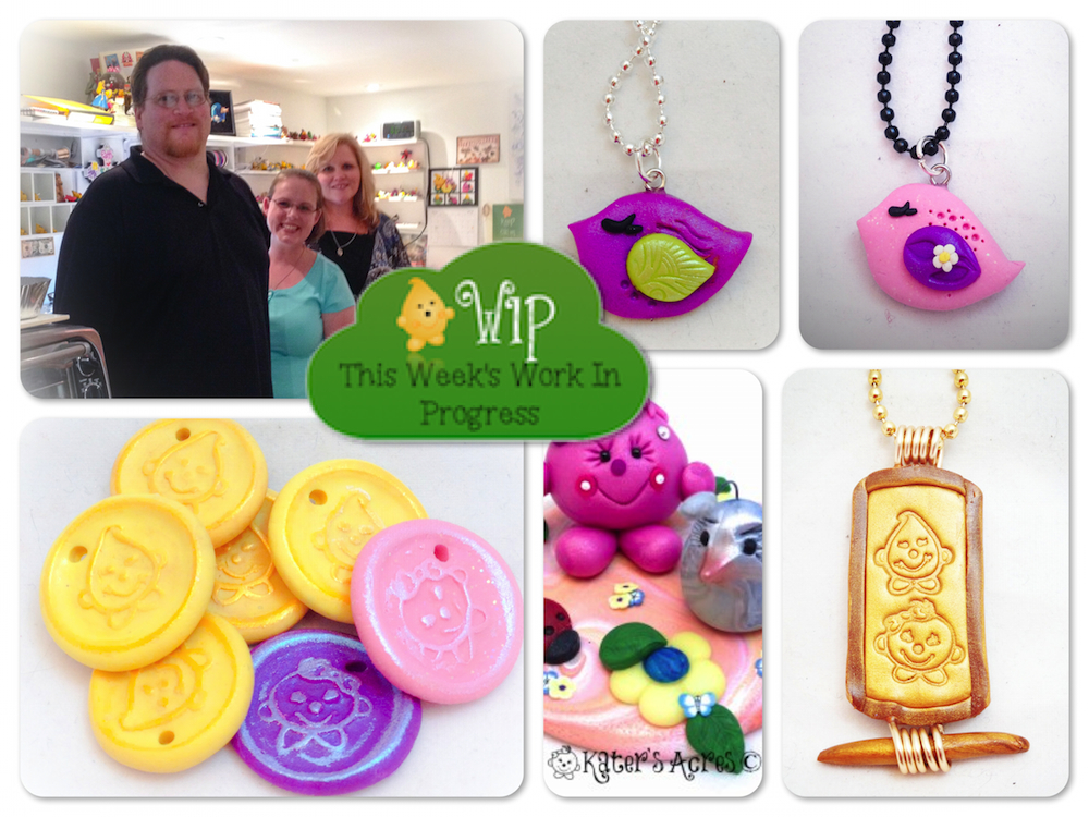 WIP Wednesday in Kater's Acres Polymer Clay Studio