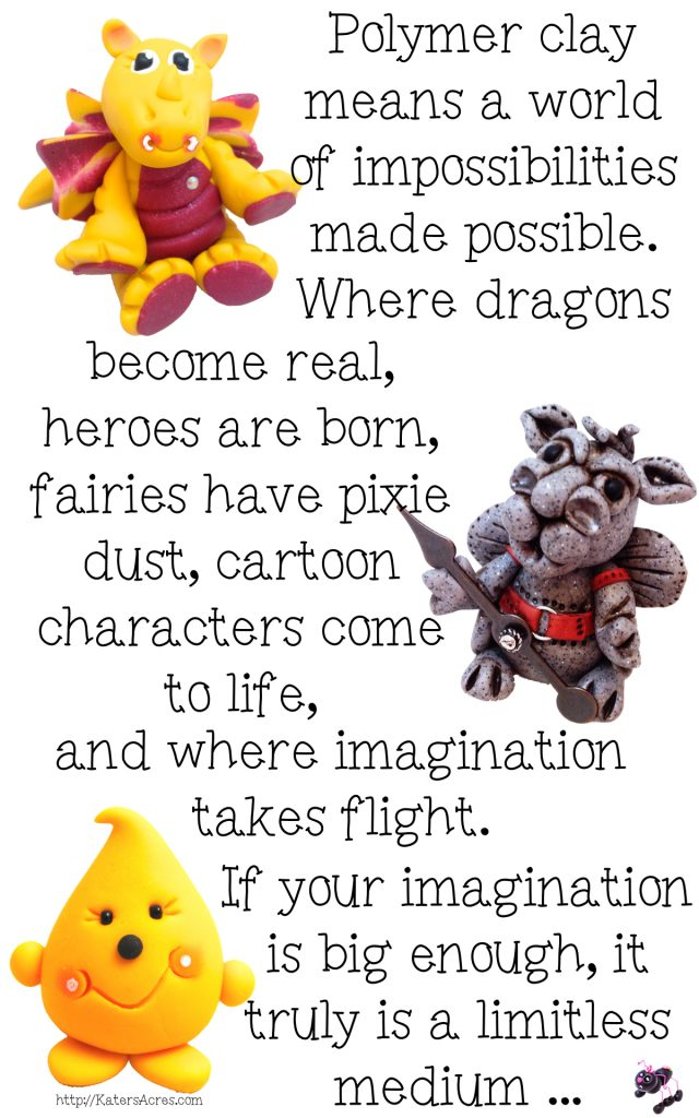 What Polymer Clay Means to Me by KatersAcres