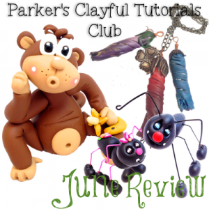 Parker's Clayful Tutorials Club June Review