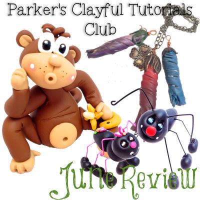 Parker's Clayful Tutorials Club June Review
