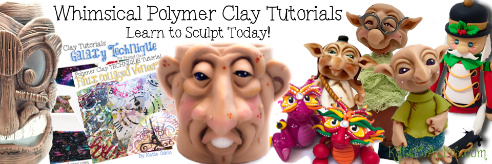 Whimsical Polymer Clay Tutorials from KatersAcres