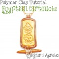 Polymer Clay Cartouche Tutorial by KatersAcres