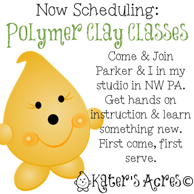 Take a Polymer Clay Class with Katie Oskin of KatersAcres