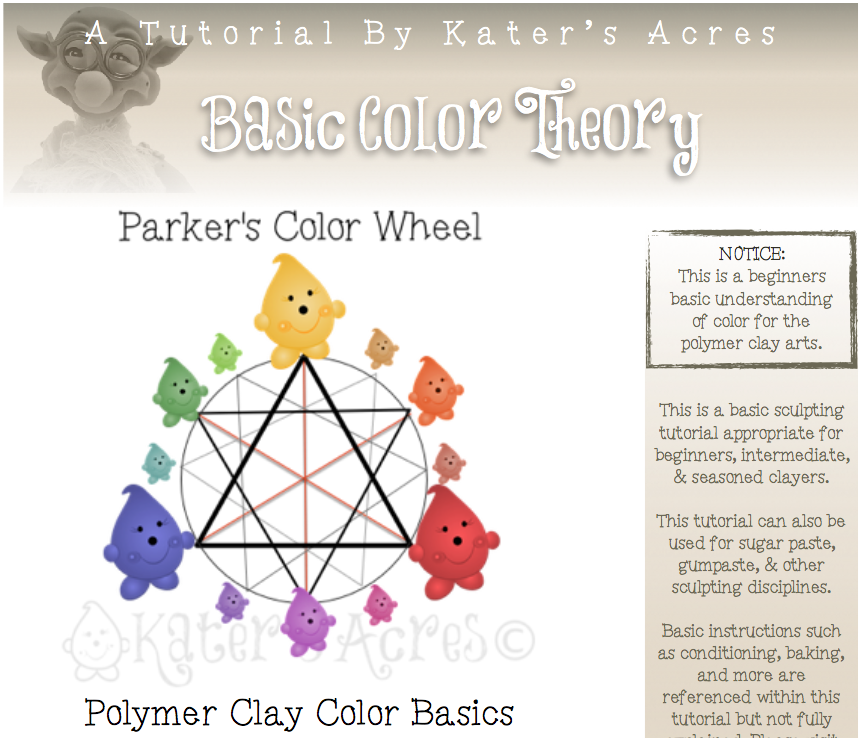 Basic Polymer Clay Color Theory By Katersacres