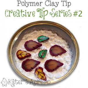 Creative Tip 2 - Corn Starch Mini Jar by KatersAcres