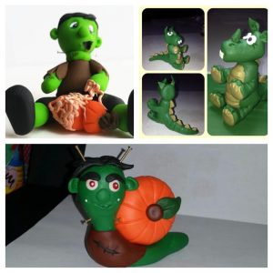 Polymer Clay Figurines Made Using KatersAcres Tutorials
