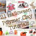 21 Halloween Tutorials for Polymer Clay