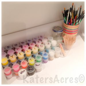 WIP Wednesday at Kater's Acres: Craft Show Preparations