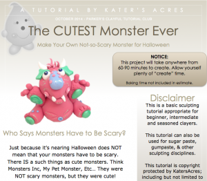 MONSTER Tutorial Preview