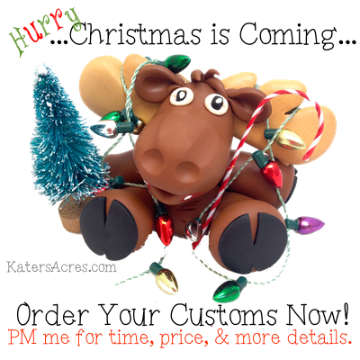Christmas is Coming - Custom Orders Due NOW