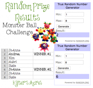 Monster Ball Challenge by KatersAcres   RESULTS