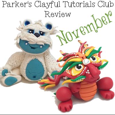 Parker's Clayful Tutorial Club - Nov 2014 Review