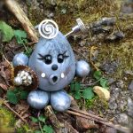 Steampunk Parker Figurine in Silver by KatersAcres
