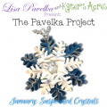 The Pavelka Project | January - Suspended Crystal Pendant Tutorial by KatersAcres