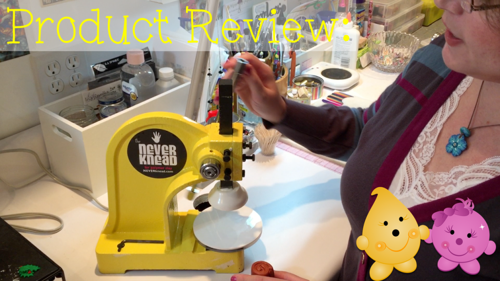 NeverKnead Polymer Clay Conditioning Machine Review by KatersAcres