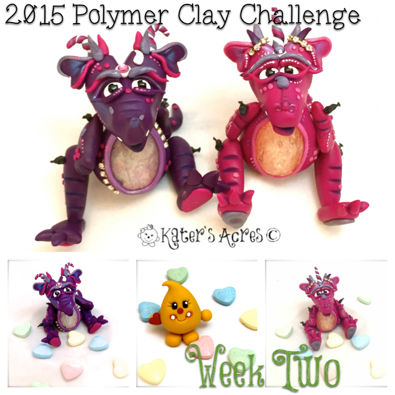 2015 Polymer Clay Challenge - Week 2 by KatersAcres