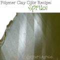 Polymer Clay Winter Blooms Color Recipe - Spruce