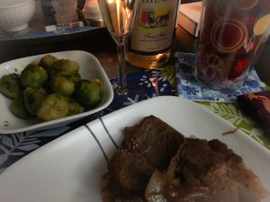Valentine's Day Dinner for My Hubby & Me   KatersAcres WIP Wednesday TidBits