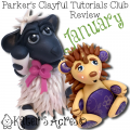 Parker's Clayful Tutorials Club, January Review by KatersAcres