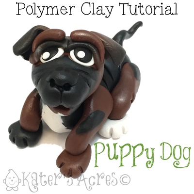 Polymer Clay Dog Tutorial by KatersAcres
