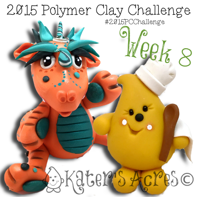 2015 Polymer Clay Challenge - Week 8 by KatersAcres | FREE International challenge for polymer clay artists #2015PCChallenge