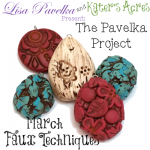 March Pavelka Project: Faux Techniques of Turquoise, Ivory, & Cinnabar by KatersAcres