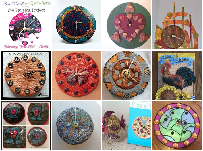 February Pavelka Project Clock Project Entries
