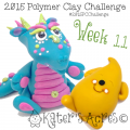2015 Polymer Clay Challenge - Week 11 by KatersAcres | FREE International challenge for polymer clay artists #2015PCChallenge