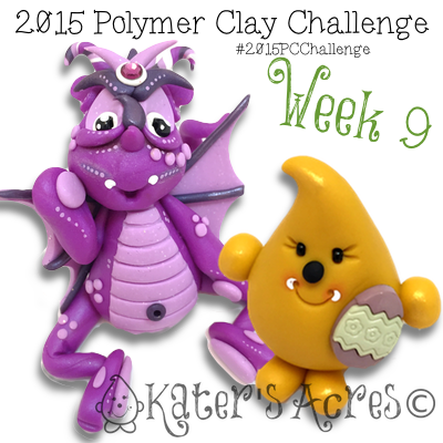 2015 Polymer Clay Challenge - Week 9 by KatersAcres | FREE International challenge for polymer clay artists #2015PCChallenge