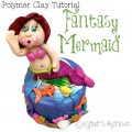 Fantasy Mermaid Polymer Clay Tutorial by KatersAcres