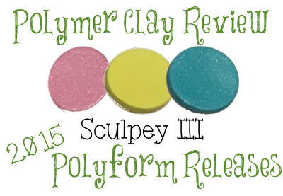 2015 Polyform Color Review - SculpeyIII's Acid Yellow