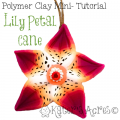 Polymer Clay Lily Petal Cane Mini-Tutorial by KatersAcres