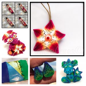 Polymer Clay Lily Petal Cane Mini-Tutorial by KatersAcres | Other Project Examples