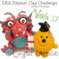 2015 Polymer Clay Challenge, Week 17 by KatersAcres