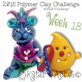 2015 Polymer Clay Challenge, Week 18 by KatersAcres