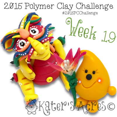 2015 Polymer Clay Challenge, Week 19 by KatersAcres