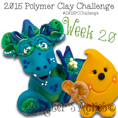 2015 Polymer Clay Challenge, Week 20 by KatersAcres