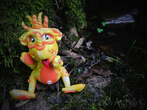 2015 Polymer Clay Challenge, Week 25 by KatersAcres | #2015PCChallenge