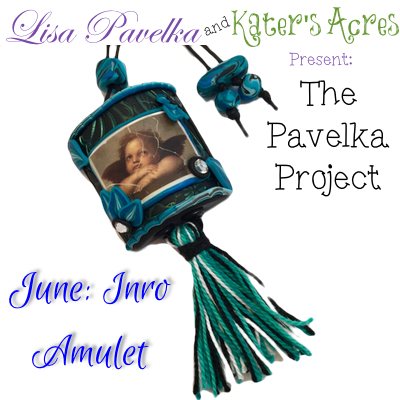 June Pavelka Project - Polymer Clay Inro Amulet Tutorial