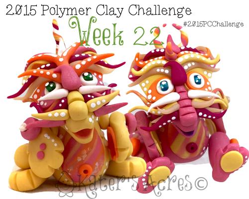 2015 Polymer Clay Challenge, Week 22 by KatersAcres | #2015PCChallenge