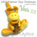 2015 Polymer Clay Challenge, Week 23 by KatersAcres | #2015PCChallenge