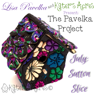 Sutton Slice Technique Tutorial | Make your own DIY birdhouse with the 2015 Pavelka Project hosted by Lisa Pavelka & Katie Oskin