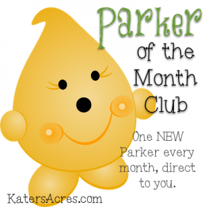 Parker of the Month Club Graphic