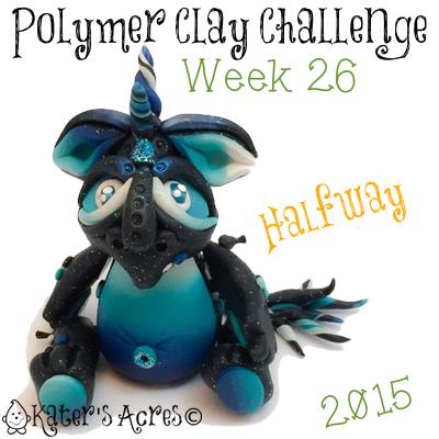 2015 Polymer Clay Challenge, Week 26 by KatersAcres | #2015PCChallenge