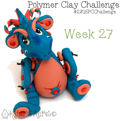 2015 Polymer Clay Challenge, Week 27 by KatersAcres   #2015PCChallenge